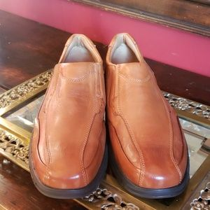 Johnston Murphy Leather Loafers  13 M